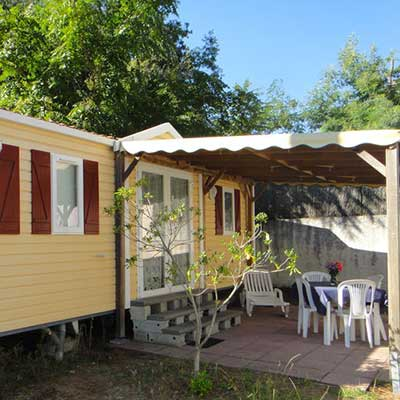 Locations hébergements Camping 3 étoiles La Tremblade | Mobil Homes, Chalets, Bungalows semi-toilés, ...