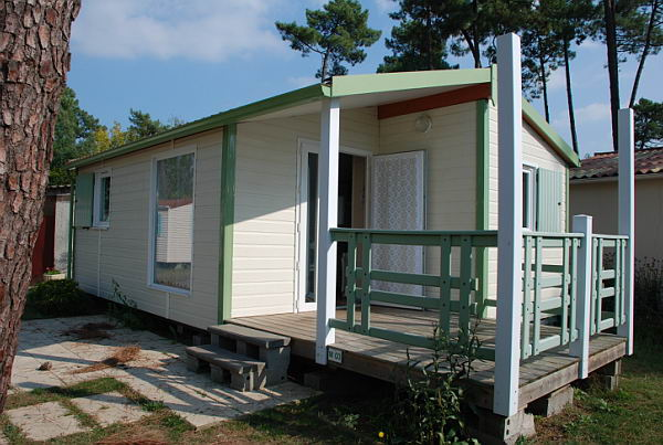 vente Chalet Twin camping La Tremblade Charente Maritime